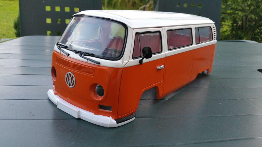 VW T2 in Weiß / Verkehrsorange (in Arbeit)